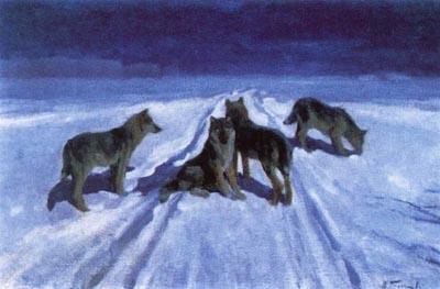 взаимные уступки, погоня волков