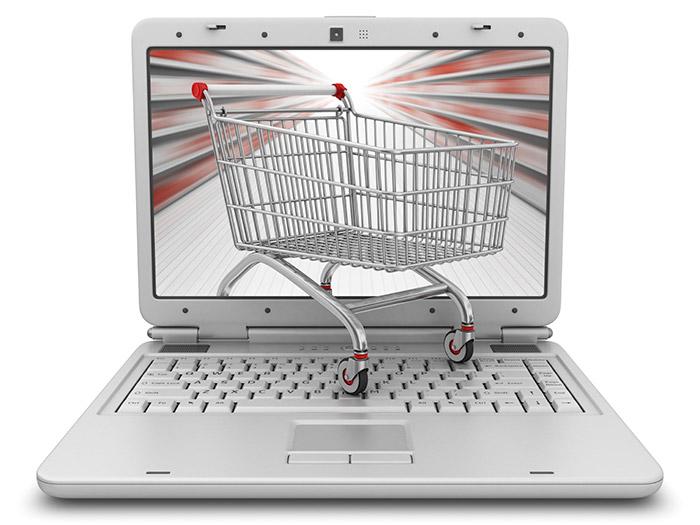 Продажи через интернет магазин